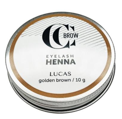 Хна для окрашивания ресниц и бровей CC Brow Eyelashes&Brow в баночке (золотистый коричневый), 10гр: фото