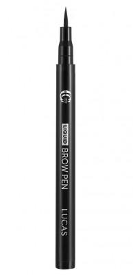 Фломастер для бровей CC Brow Liquid Brow Pen dark brown (темно-коричневый): фото