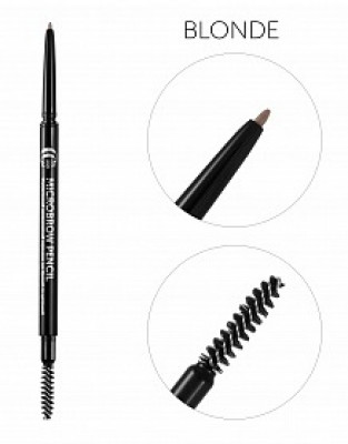 Карандаш для бровей механический со щеточкой CC Brow Micro Brow Pencil blonde: фото
