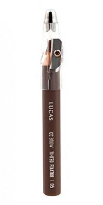 Восковый карандаш для бровей CC Brow TINTED WAX FIXATOR 05 русый: фото