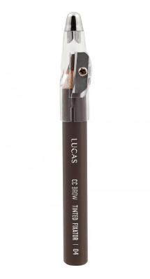 Восковый карандаш для бровей CC Brow TINTED WAX FIXATOR 04 светло-коричневый: фото