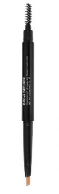 Механический карандаш для бровей со щеточкой CC Brow Brow Definer light brown: фото