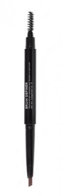 Механический карандаш для бровей со щеточкой CC Brow Brow Definer dark brown: фото