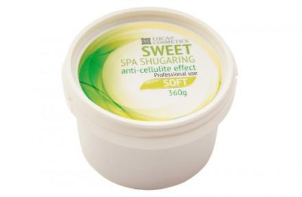 Шугаринг антицеллюлитным эффектом мягкий Sweet Spa Shugaring anti-cellulite effect Soft 360г: фото