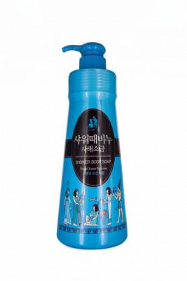 Гель для душа Mukunghwa SHOWER BODY SOAP Dead Sea Salt With Fresh Ocean Perfume 500мл: фото