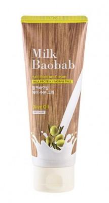 Маска для кончиков волос кремовая несмываемая Milk Baobab HAIR MOISTURE CREAM PACK 150мл: фото