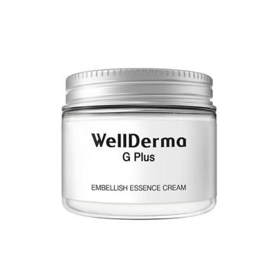 Питательный крем с маслом ши для сухой кожи WELLDERMA G Plus Embellish Essence Cream 50г: фото