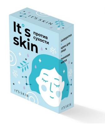 "Набор ухода за кожей It's Skin ""Против сухости"" 30мл + 50мл + 22г: фото"