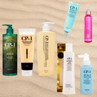 Система ухода CP-1 для жирной и чувствительной кожи головы, пересушенных волос и секущихся кончиков: фото