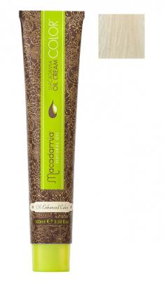 Краска для волос Macadamia Oil Cream Color 12.0 ОЧЕНЬ НАТУРАЛЬНЫЙ БЛОНДИН 100мл: фото