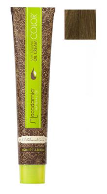 Краска для волос Macadamia Oil Cream Color 7/2 СРЕДНИЙ ЗЕЛЕНО МАТОВЫЙ БЛОНДИН 100мл: фото