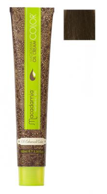Краска для волос Macadamia Oil Cream Color 6/2 ТЕМНЫЙ ЗЕЛЕНО МАТОВЫЙ БЛОНДИН 100мл: фото
