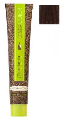 Краска для волос Macadamia Oil Cream Color 6.77 ЭКСТРА ТЕМНЫЙ ШОКОЛАДНЫЙ БЛОНДИН 100мл: фото