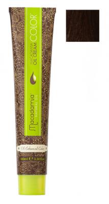 Краска для волос Macadamia Oil Cream Color 6.35 ТЕМНЫЙ ЗОЛОТИСТЫЙ ШОКОЛАДНЫЙ БЛОНДИН 100мл: фото