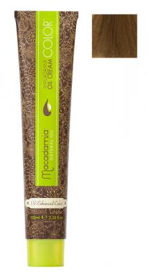 Краска для волос Macadamia Oil Cream Color 8.73 СВЕТЛЫЙ ШОКОЛАДНЫЙ БЛОНДИН 100мл: фото
