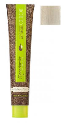 Краска для волос Macadamia Oil Cream Color 11.32 ОЧЕНЬ ОСВЕТЛЯЮЩИЙ БЕЖЕВЫЙ БЛОНДИН 100мл: фото