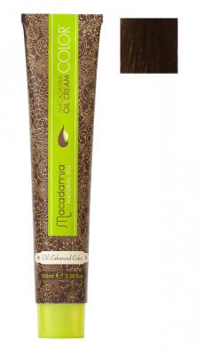 Краска для волос Macadamia Oil Cream Color 5.32 СВЕТЛО БЕЖЕВЫЙ КАШТАНОВЫЙ 100мл: фото