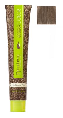 Краска для волос Macadamia Oil Cream Color 8.1 СВЕТЛО ПЕПЕЛЬНЫЙ БЛОНДИН 100мл: фото