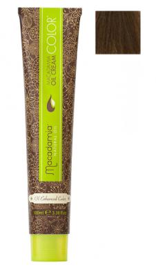 Краска для волос Macadamia Oil Cream Color 77.0 СРЕДНИЙ ЭКСТРА ЯРКИЙ БЛОНДИН 100мл: фото