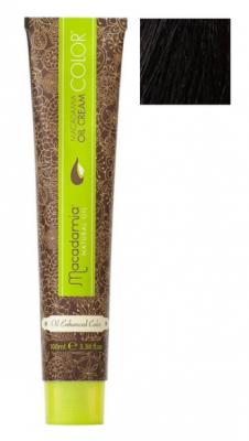 Краска для волос Macadamia Oil Cream Color 55.0 СВЕТЛЫЙ ЭКСТРА-ЯРКИЙ КАШТАНОВЫЙ 100мл: фото