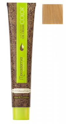 Краска для волос Macadamia Oil Cream Color 9.03 ОЧЕНЬ СВЕТЛЫЙ ТЕПЛЫЙ БЛОНДИН 100мл: фото