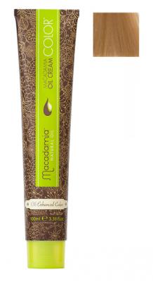 Краска для волос Macadamia Oil Cream Color 8.03 СВЕТЛЫЙ ТЕПЛЫЙ БЛОНДИН 100мл: фото