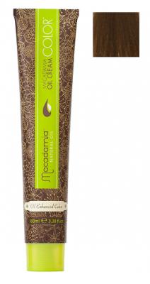 Краска для волос Macadamia Oil Cream Color 6.03 ТЕМНЫЙ ТЕПЛЫЙ БЛОНДИН 100мл: фото