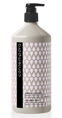Кондиционер для сохранения цвета с маслом облепихи и маслом граната Barex Contempora Color Protection Conditioner Seaberry and Pomegranate Oils 1000мл