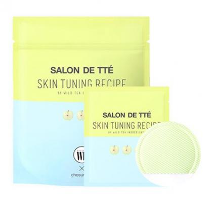 Очищающие пэды с яблочными экстрактами Wonder Bath Salon de Tte Apple Edition 20шт