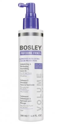 Питательное несмываемое средство для объема и густоты волос BOSLEY Volumizing Thickening Nourishing Leave-In 200мл