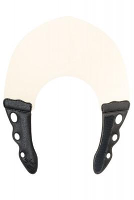 Воротник для стрижки и окрашивания Y.S.PARK 0.6мм, натуральный с чёрным