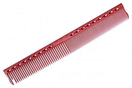 Расческа для стрижки с линейкой Y.S.PARK G45 красная
