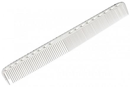 Расческа для стрижки с линейкой Y.S.PARK G35 белая