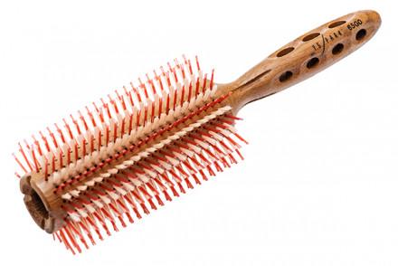 Брашинг для укладки волос деревянный Y.S.Park SUPER-G YS-65G0 65мм