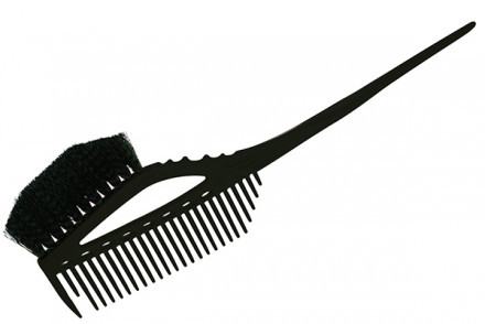 Кисточка для окрашивания с расчёской Y.S.Park YS-640 черная