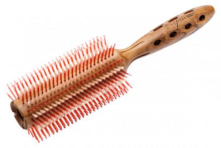 Брашинг для укладки волос деревянный Y.S.Park SUPER-G YS-60G1 60мм
