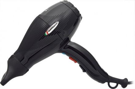 Фен Gamma PIU SRL E-T-C Light Turbo Compressor Tormalionic 2100W HD-NA4021MP черный: фото